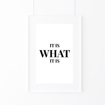 Inspirational Print, Wall Decor, Typography Wall Art, Motivational Print, Inspirational Poster, Teen Gift Ideas, Home Decor - PT0074