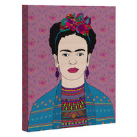 Bianca Green Frida Kahlo Art Canvas