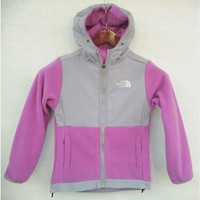 The North Face Men BOYS and Girl DENALI hoodie Outdoor jacket