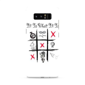 One Direction Louis Tomlinson Tattoos Samsung Galaxy Note 8 Case