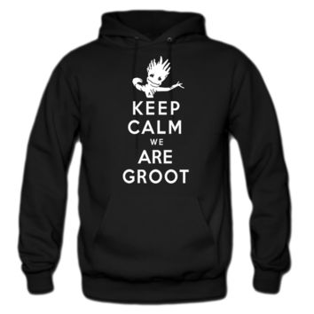 KEEP CALM WE ARE GROOT hoodie
