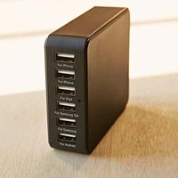 6-Port Home USB Charger Station