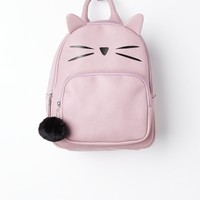 Kitty Ears Mini Backpack & Plush Pom | Backpacks | rue21