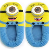Alice Despicable Me II 3D Deluxe Plush Stuffed Doll Soft Toy Figure Minion Shoes