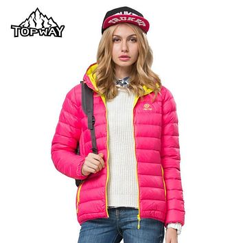 Hot Sale Lightweight Ultra-light Mantean Femme Duck Down Winter Jacket Women Water Resistant Coat Ladies Anti-Scratch Parka