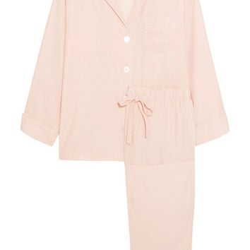 Sleepy Jones - Marina silk-charmeuse pajama set