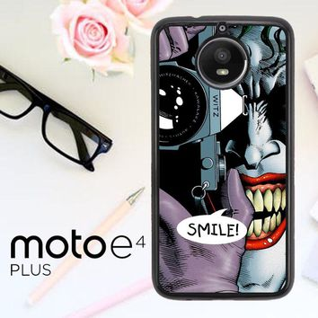 Joker Batman The Killing Joke F0835 Motorola Moto E4 Plus Case