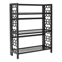 Safavieh Natalie Small Open Bookcase (Black)