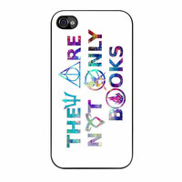Divergent Hunger Game Harry Potter Book Quotes iPhone 4s Case