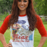 Gina There's No Place Like Texas Tee