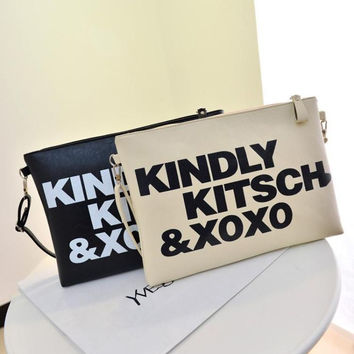 Stylish Alphabet Print Bags [6581835143]