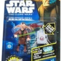 Star Wars 2011 Clone Wars Animated Action Figure CW No. 58 Jedi Even Piell