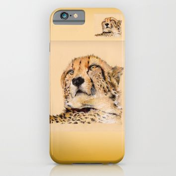 Season of the Cheetah iPhone & iPod Case by michael jon