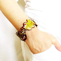 Statement fashion Handmade Bangle Bracelet