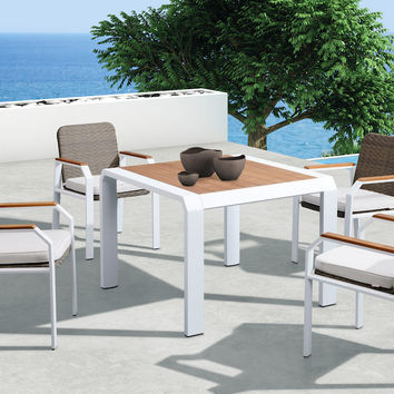 Teakman Outdoor Dining Set - 4 Seats