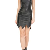 Moschino Cheap and Chic - Leather Dress