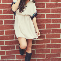 Native Is Naive Dress: Off White