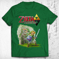 The Legend of Zelda: A Link Between Worlds Men's Video Game T-shirt