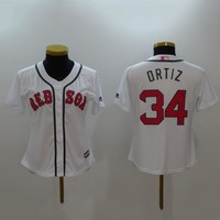 Men's MLB  Buttons Baseball Jersey  HY-17N11Y28D
