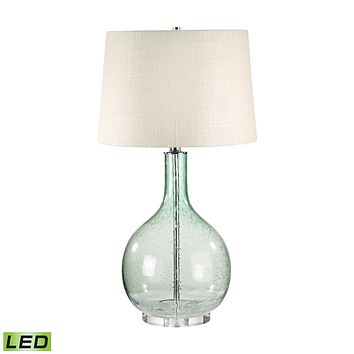 230G-LED Green Seed Glass LED Table Lamp