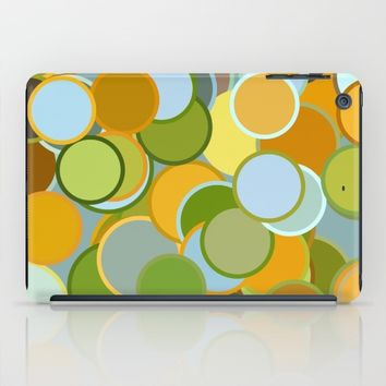 Circle Mixture iPad Case by Colorful Art