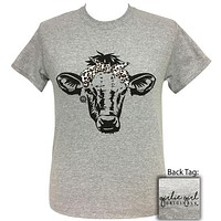 Girlie Girl Originals Preppy Bandana Cow T-Shirt