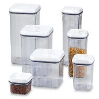 OXO Good Grips® Square Food Storage Pop Containers