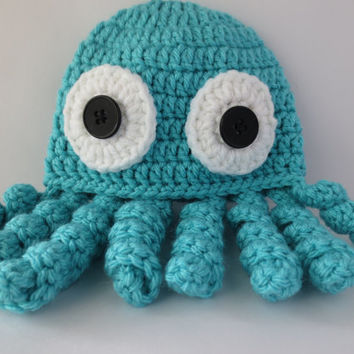 LovelyLizardDesigns On Etsy On Wanelo Delectable Crochet Octopus Hat Pattern