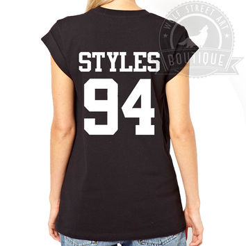 Styles 94 T Shirt Top - Pinterest Tumblr Instagram Blogger T-Shirt S-XXL Christmas Slogan Gift Black White Harry Styles One Direction