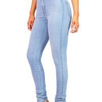 Easy High Waist Skinnys - High Waist Skinnys at Pinkice.com