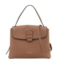 Burberry Camberley Medium Saffiano Tote Bag, Sand