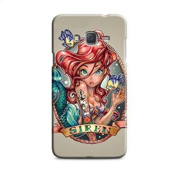 Ariel Little Mermaid Tattoo Samsung Galaxy J7 2015 | J7 2016 | J7 2017 Case