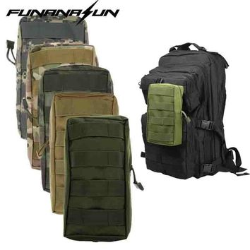Airsoft Military 600D 21X11.5CM MOLLE Utility Tactical Vest Waist Pouch Bag For Outdoor Hunting Wasit Pack Equipment