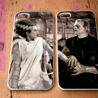 Frankenstein and Bride Couple for iPhone 4 / 4S / 5 / 5S / 5C Case, Samsung Galaxy S3 / S4 / S5 case