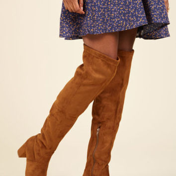 Unique in the Knees Boot | Mod Retro Vintage Boots | ModCloth.com
