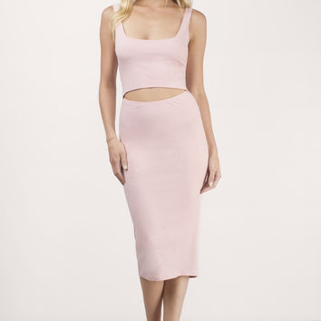 Edson Cut Out Bodycon Dress