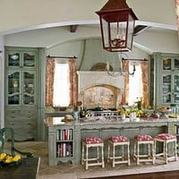 I Heart Shabby Chic: Shabby Chic Distressed Kitchen Inspiration