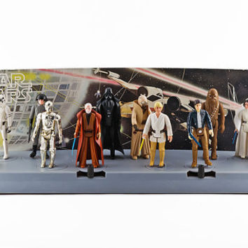 Star Wars 12 Back Action Figure Display Stand, 1977 Complete, Mail In