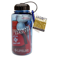Ultimate Survival Kit in a Water Bottle