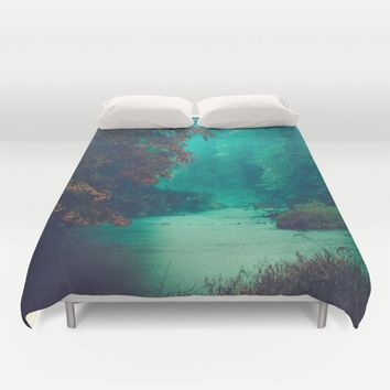 Sanctuary Duvet Cover by Faded  Photos