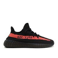 DCCK1 Adidas Yeezy Boost 350 V2 (12, Core Black/ Red)