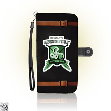 Slytherin Quidditch, Harry Potter Wallet Case