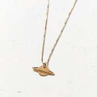 MALAIKARAISS Saturn Charm Necklace | Urban Outfitters