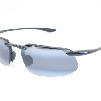 Maui Jim Kanaha 409-02 Gloss Black Polarized Sunglasses