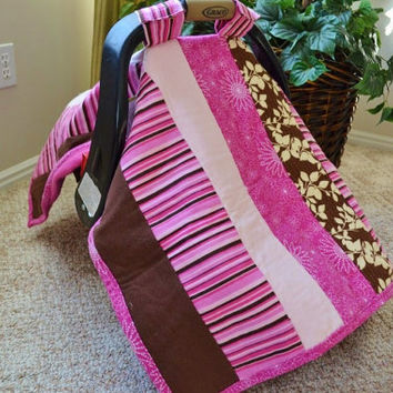Car Seat Cover Infant Carseat Canopy Nursing by avisiontoremember