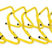 SKLZ Speed Hurdles - 5 Adjustable Height Hurdles with Free SKLZ Carry Bag