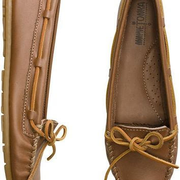 MINNETONKA LEATHER MOCCASIN