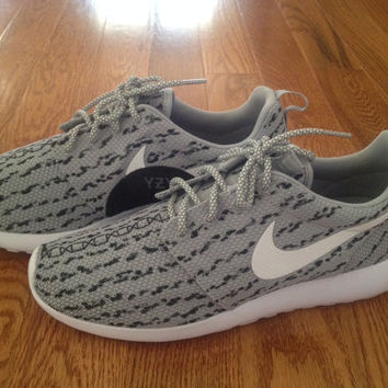 Custom Nike roshe Run roshe one  yeezy boost low inspired custom