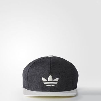 adidas ORIGINALS TEAM STRUCTURED SNAPBACK CAP - Grey | adidas US
