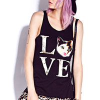 Kitty Love Tank